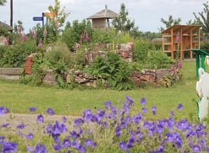 Doe- en beleeftuin bezoekerscentrum Nationaal Park de Alde Feanen
