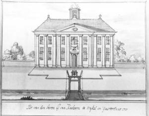 Slot Koehoorn 1721 Tresoar