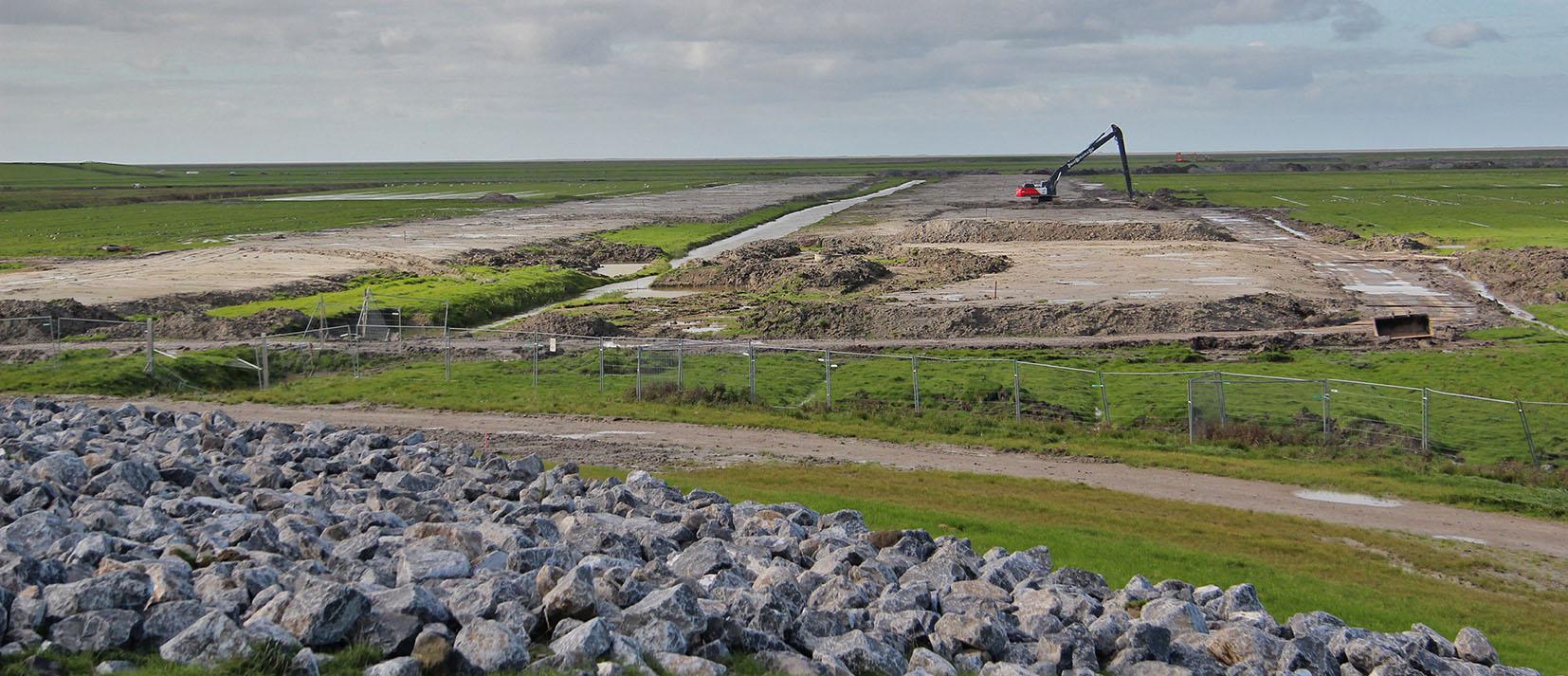 Werkzaamheden voor de natuur in Fryslân