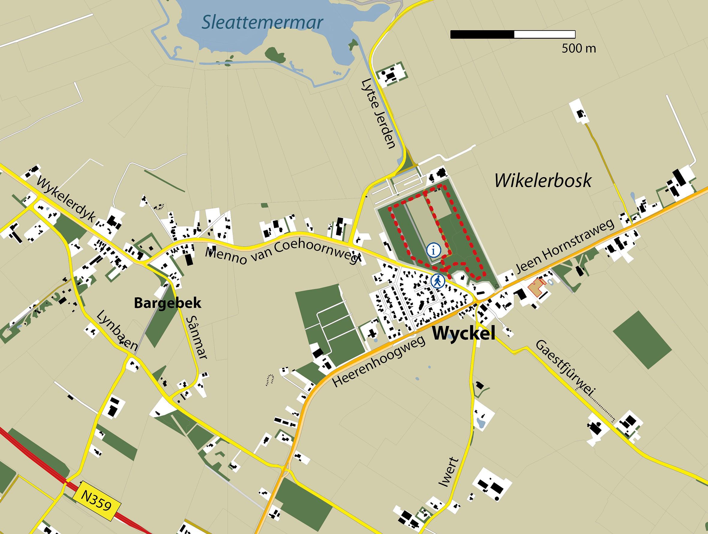 Gebiedskaart Wikelerbosk
