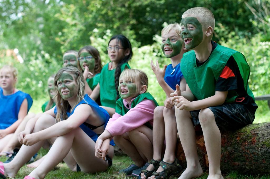 kinderactiviteiten in de natuur