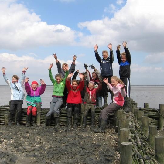 schoolexcursie in It Fryske Gea