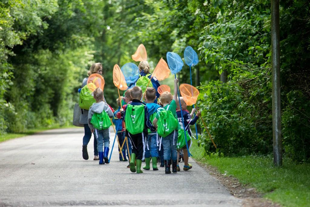 rugzakroutes door de Friese natuur voor kinderen