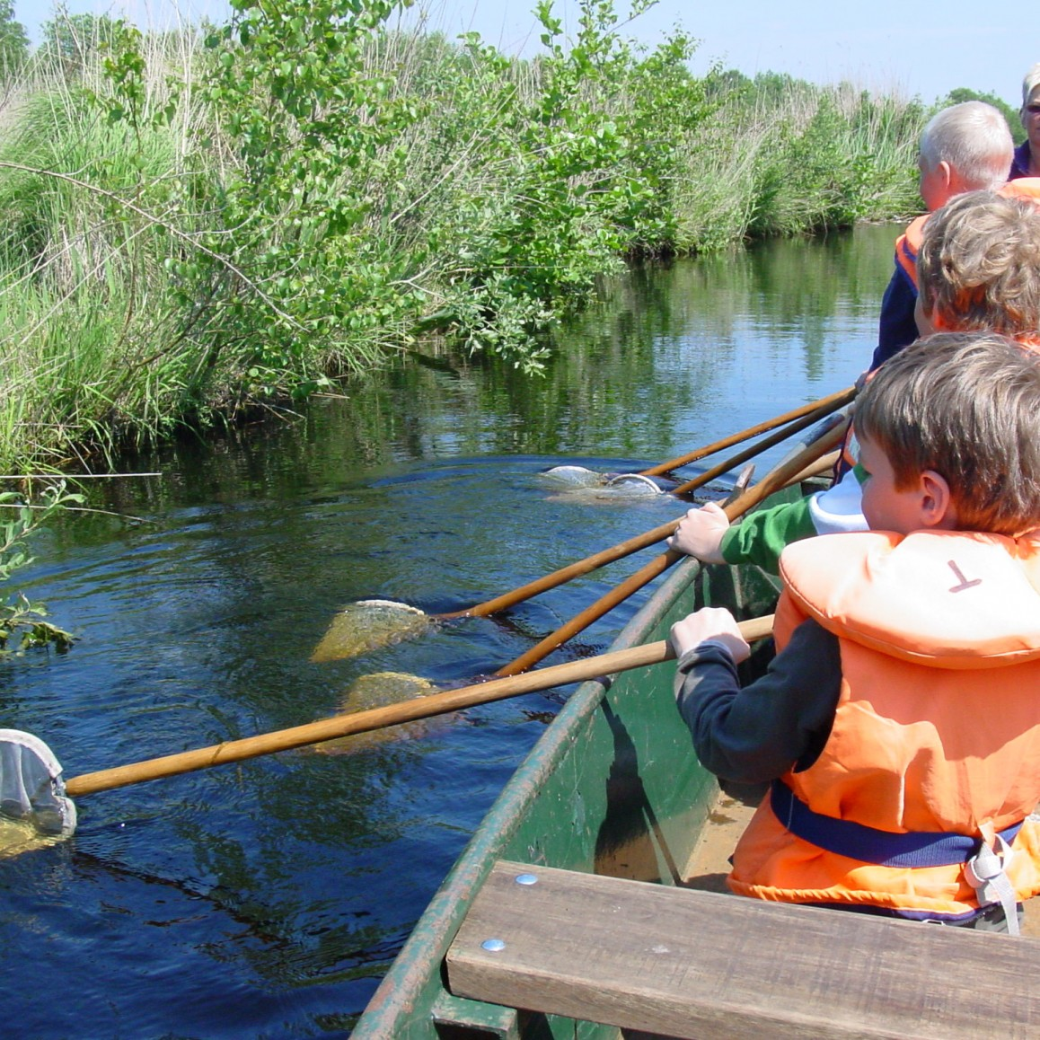 jeugdexcursies bij It Fryske Gea