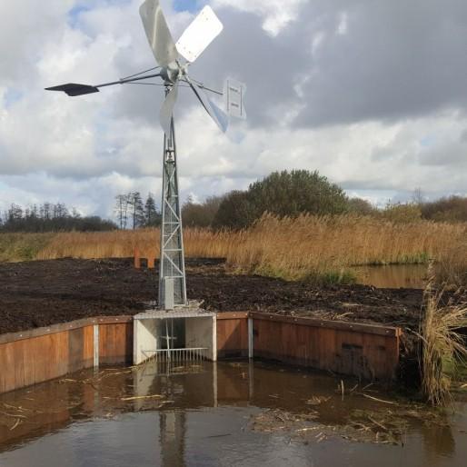 Windwatermolen in de Alde Feanen