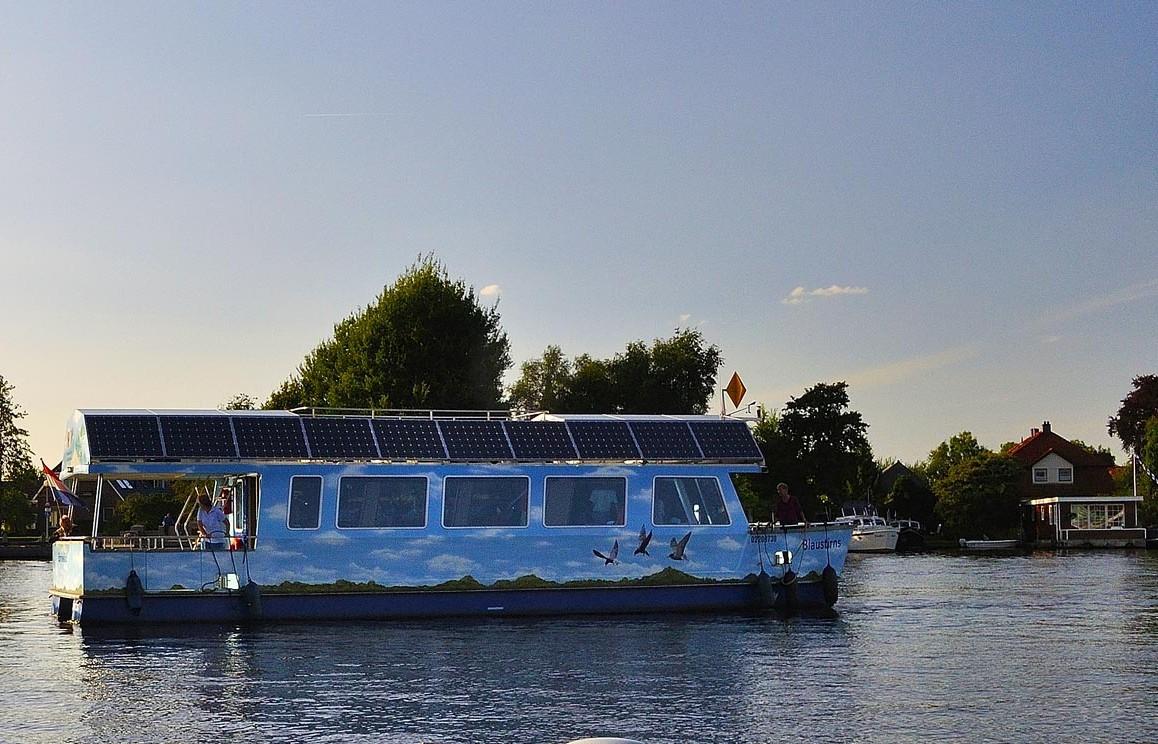 rondvaartboot Blaustirns