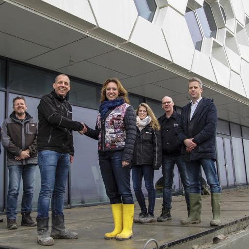 Oplevering Afsluitdijk Wadden Center