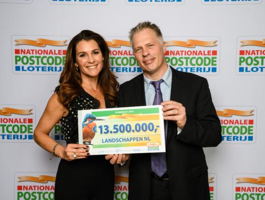 Steun van Nationale Postcode Loterij