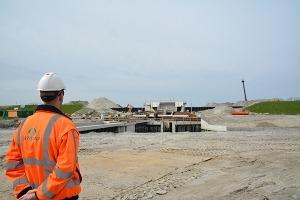 Neem een kijkje op de bouw van gemaal Vijfhuizen