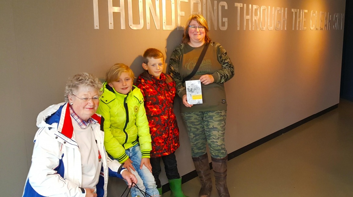 9000e bezoeker Lancaster expositie