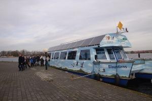 Varen met excursieboot de Blaustirns in De Alde Feanen
