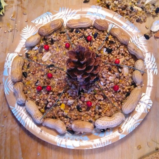 Vogeltaartje maken