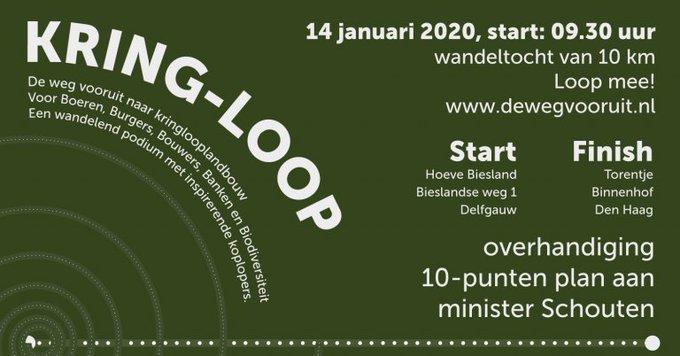 Kring-Loop voor natuur in Den Haag