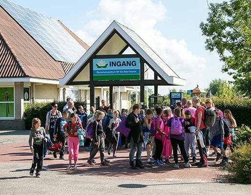 schoolreisje bezoekerscentrum