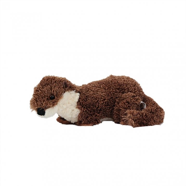 Otter knuffel liggend